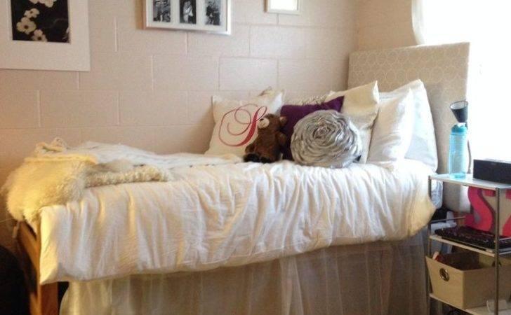 Diy Dorm Homemade Bed Skirt Headboard