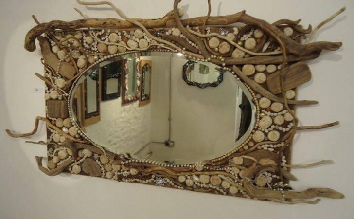 Diy Driftwood Mirror Wall Art