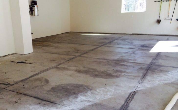 Diy Epoxy Garage Floor Kits Before