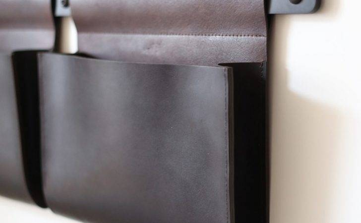 Diy Faux Leather Wall Pockets Your Home