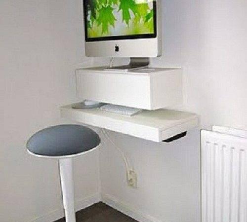 Diy Floating Desk Computer Ideas