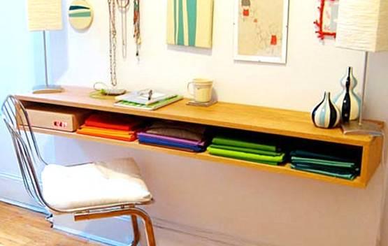 Diy Floating Desk Drawers