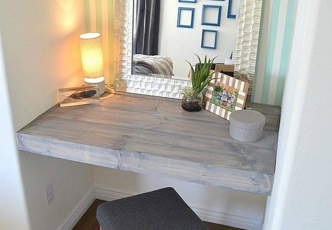Diy Floating Desk Ideas Make Your Room Beautiful Aida