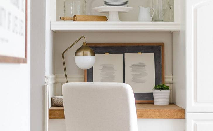 Diy Floating Desk Storage Tutorial Burst Beautiful
