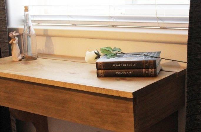 Diy Floating Desk Vanity Storage Tutorial Sawdustsisters