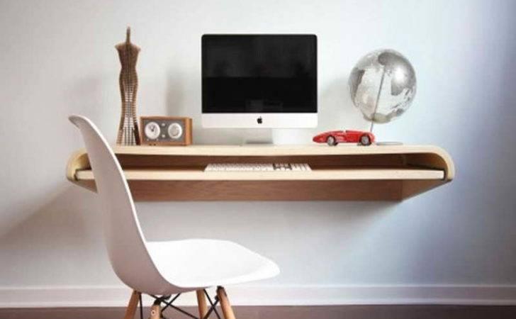 Diy Floating Shelf Desk Ikea Wall