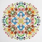 Diy Giant Sticker Mandala Tutorial Making These Mandalas