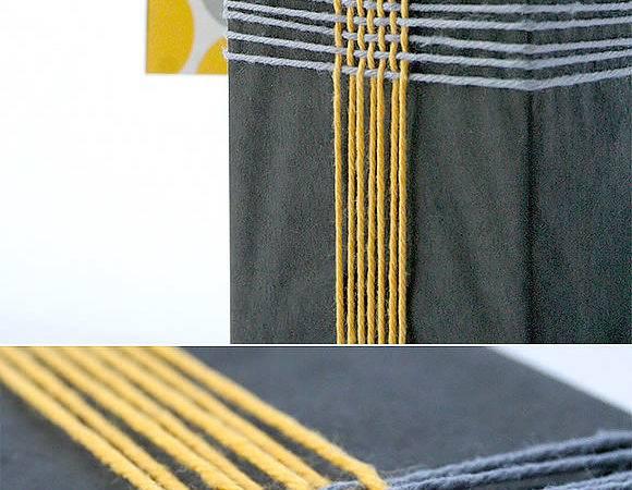 Diy Gift Wrap Idea Braided Yarn Knew Sim Ple Weave