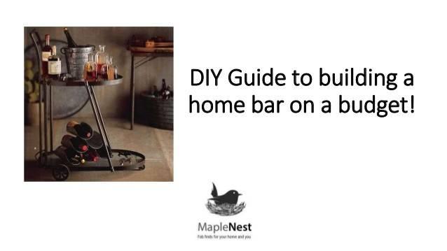 Diy Guide Building Home Wine Liquor Bar Budget