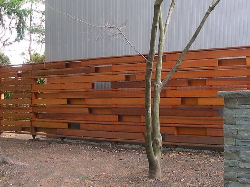 Diy Horizontal Privacy Fence Designs