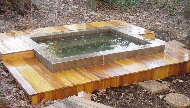 Diy Hot Tub Wood Plans Furthermore Steps Moreover
