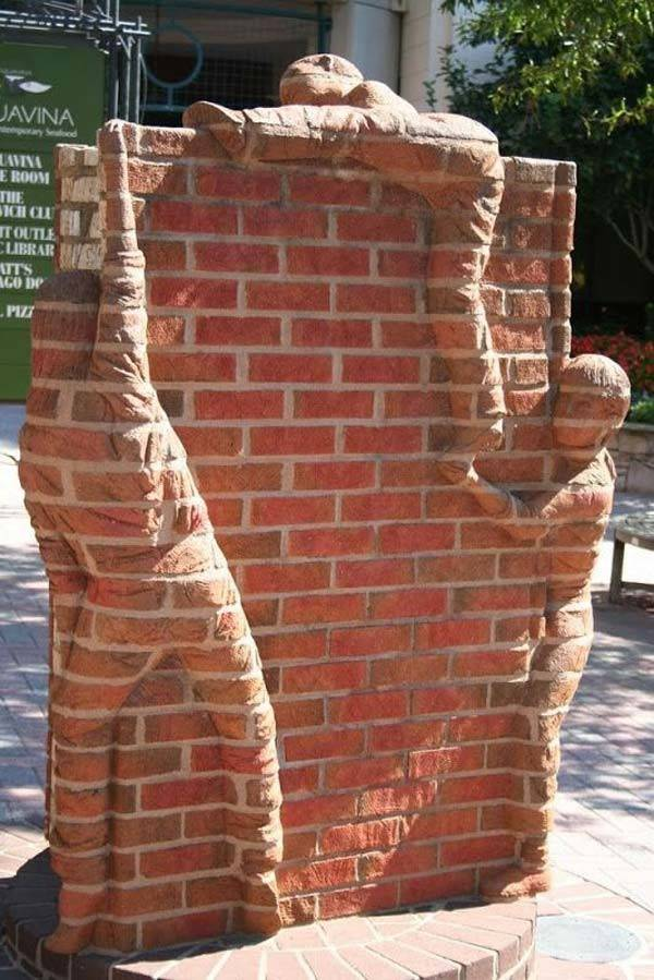 Diy Ideas Creating Cool Garden Yard Brick Projects
