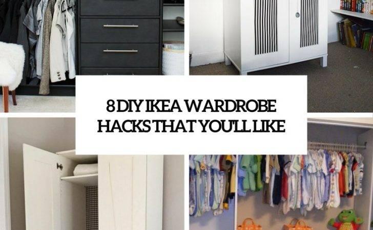 Diy Ikea Wardrobe Hacks Like Shelterness