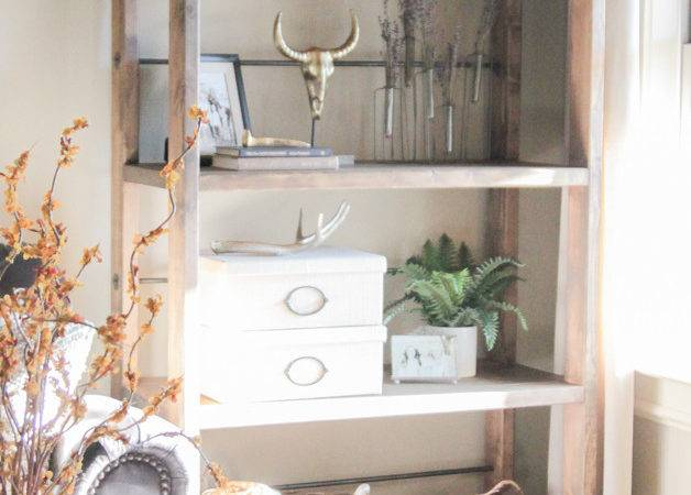 Diy Industrial Cart Bookcase Shanty Chic