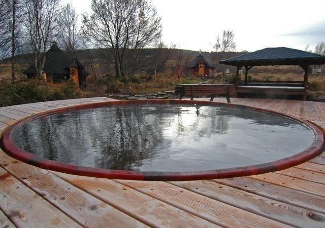 Diy Inground Hot Tub Outdoor
