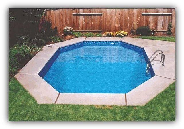Diy Inground Pool Home Pinterest