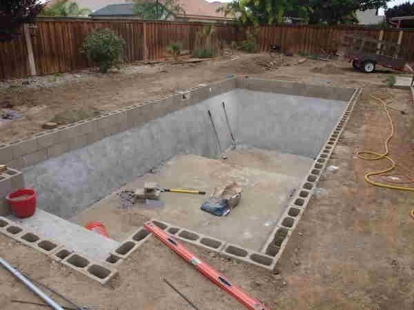Diy Inground Pools Kits Exterior Pinterest