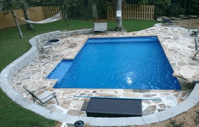 Diy Inground Pools Kits Home Pinterest