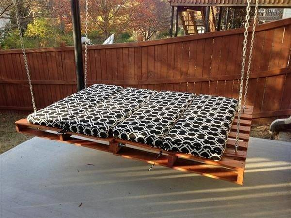 Diy Inspired Pallet Swing Ideas Crafts