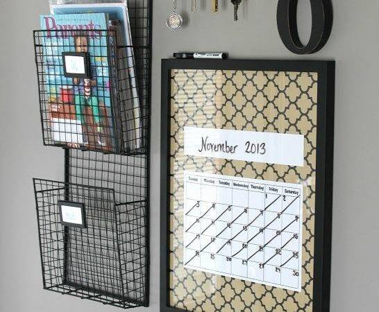Diy Key Holder Holders Calendar Board Wall Command