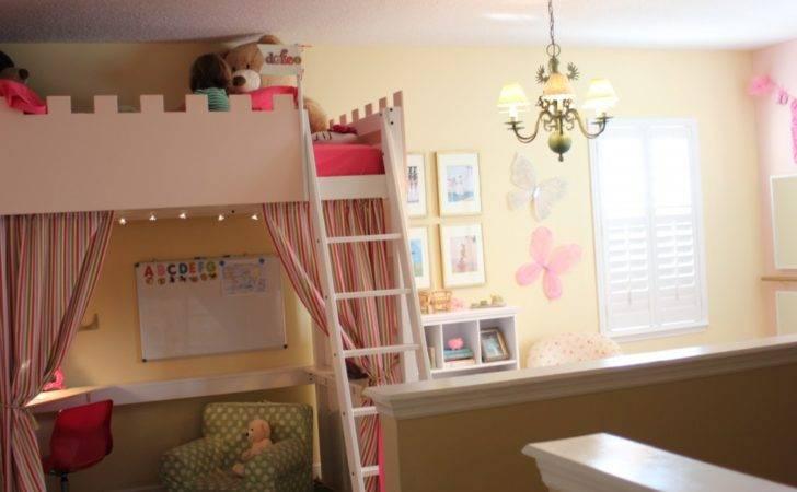 Diy Kids Playroom Makeover Ikea Loft Bed Base