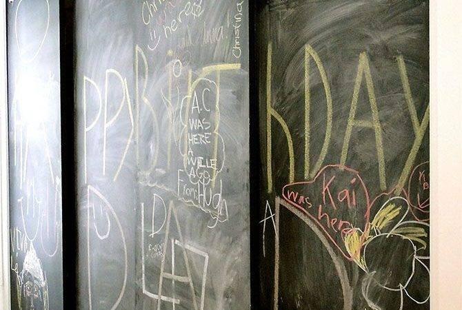 Diy Kitchen Pantry Doors Hollow Barn Door Track Hardware Less