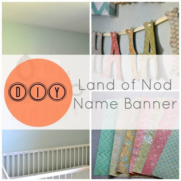 Diy Land Nod Name Banner Faye