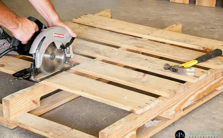 Diy Make Your Own Pallet Swing Bench