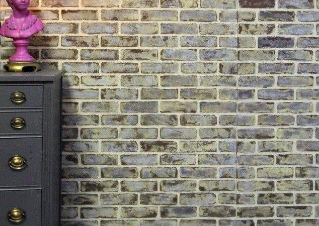 Diy Making Faux Brick Walls Look Old Bricks