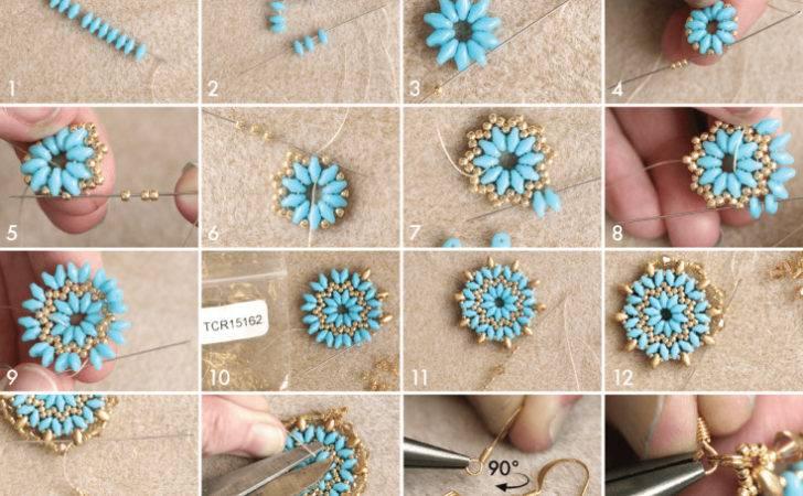 Diy Mandala Necklace Earrings Set Tutorial Beads Blog