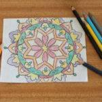 Diy Mandala Painting Curly Made