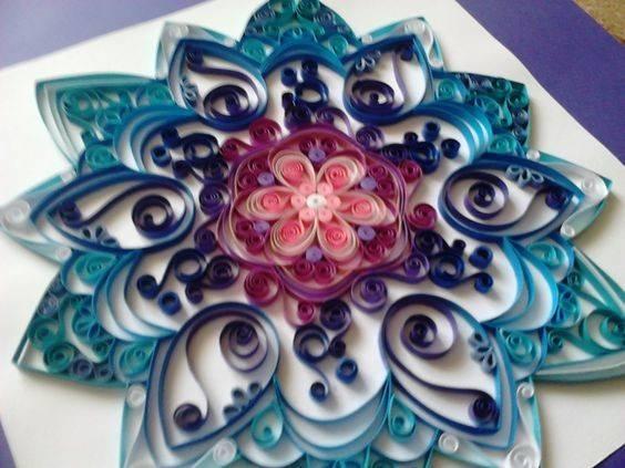 Diy Mandala Quilling Mandalas Pinterest