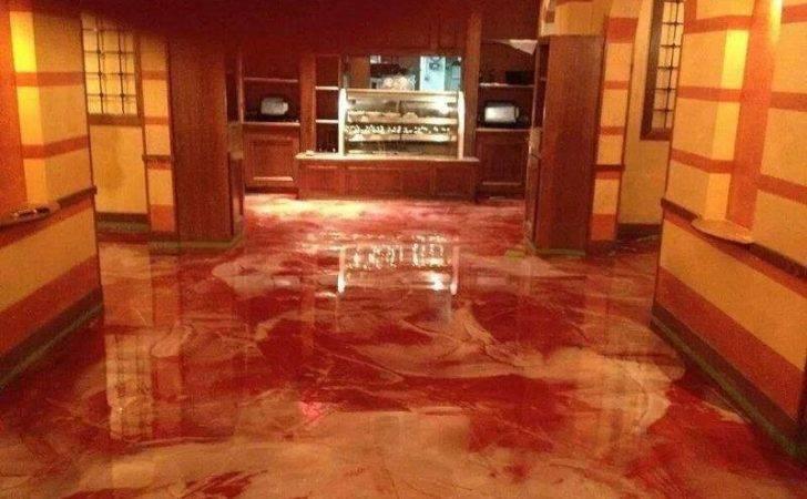 Diy Metallic Epoxy Floor Perfect