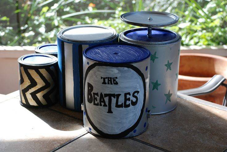 Diy Paint Can Drum Set Toy Not But Music Christmas