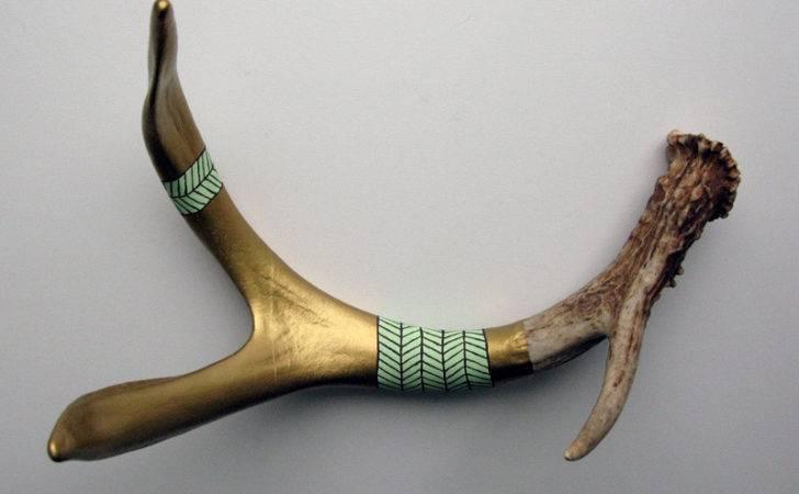 Diy Painted Deer Antler Sheds
