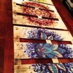 Diy Painted Mandala Pallet Pinterest Mandalas
