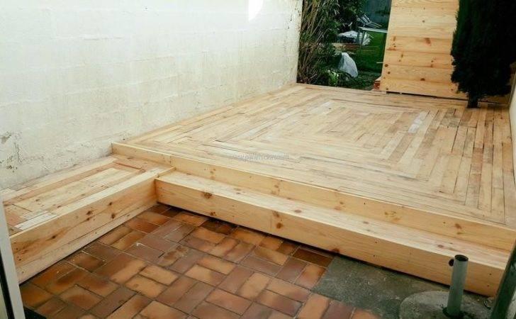 Diy Pallet Floor Designs Ideas
