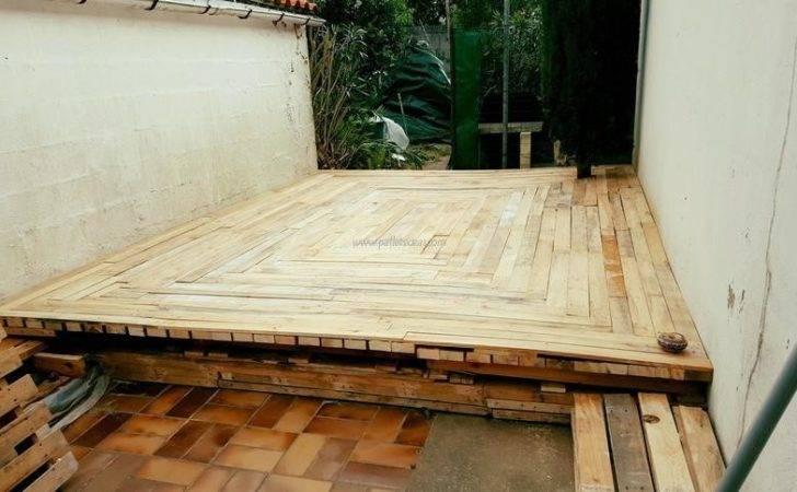 Diy Pallet Outdoor Flooring Ideas