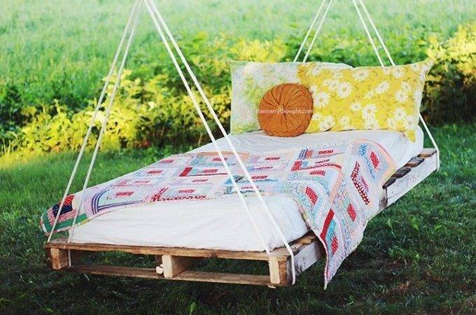 Diy Pallet Swing Bed Design Ideas Pallets Project Plans