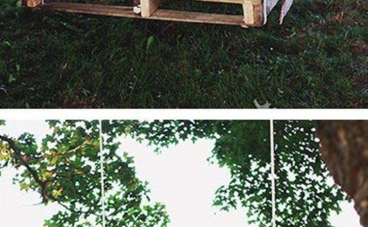 Diy Pallet Swing Bed Homemade Stuff Pinterest