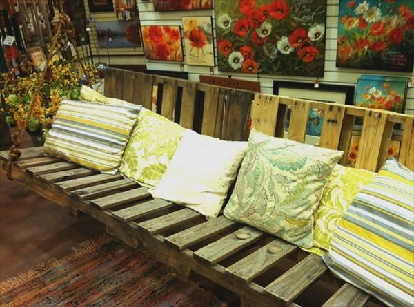 Diy Pallet Swing Plans Chair Bed Bench Wooden Furniture