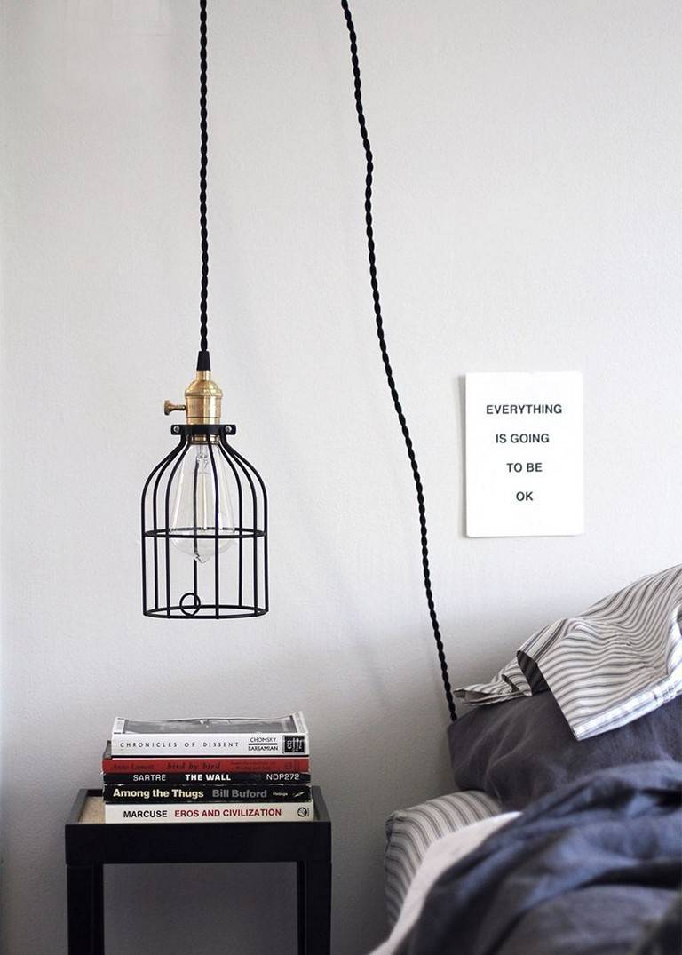 Diy Pendant Light Cord Suspension