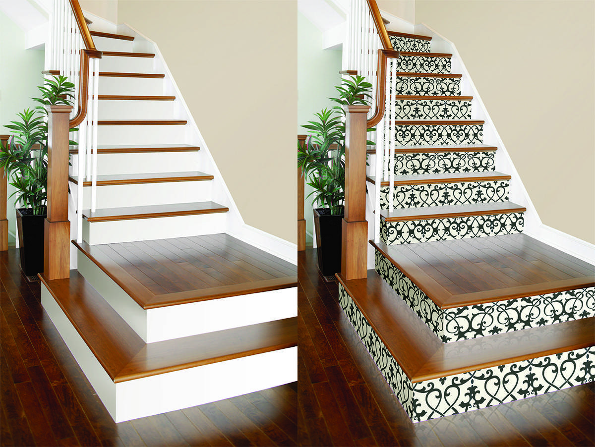 Diy Project Stair Risers Brewster Home