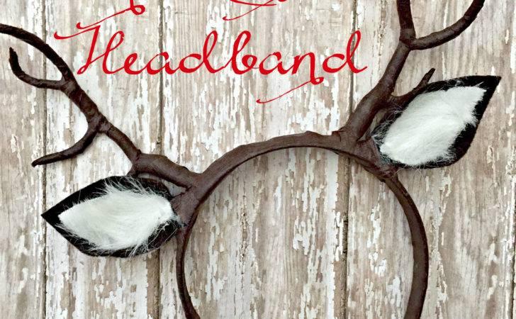 Diy Reindeer Antlers Headband