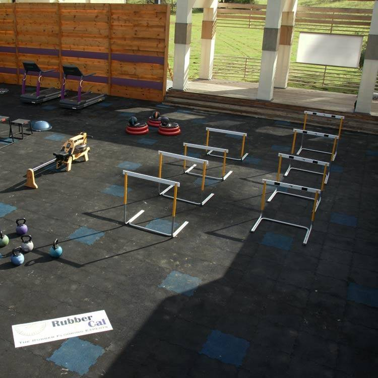 Diy Rubber Flooring Gyms Help Establish Home Fitness Rooms
