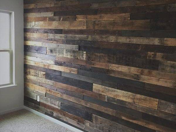 Diy Rustic Pallet Wood Wall Furniture