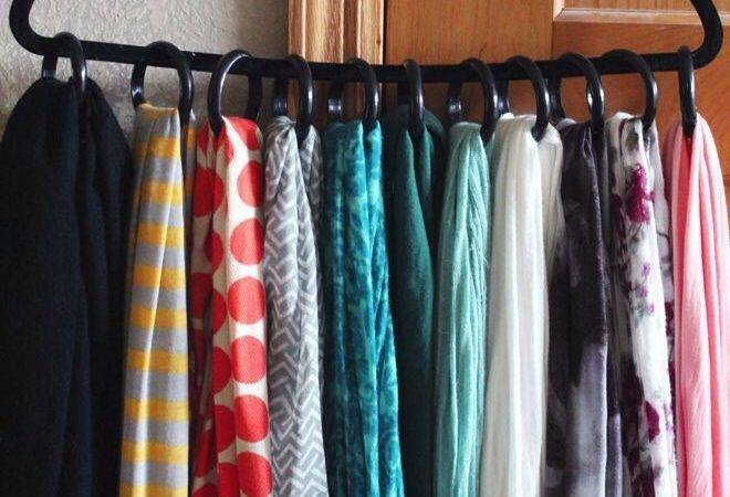 Diy Scarf Hanger Super Easy More Showers Idea