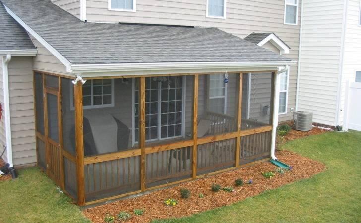 Diy Screen Porch Design Ideas Regard Permit Build