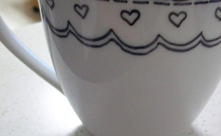Diy Sharpie Mug Yarn Tell