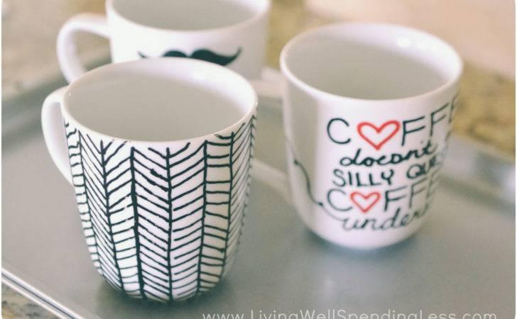 Diy Sharpie Mugs Mug Project Marker